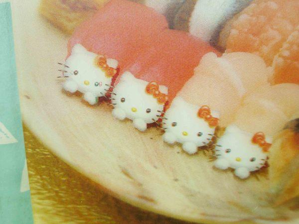 【震撼精品百貨】Hello Kitty 凱蒂貓~明信片-握壽司