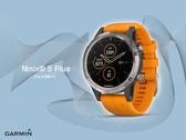 【時間道】GARMIN -預購-fenix® 5+ 感應式支付GPS 多功能音樂智慧腕錶 -鈦錶圈搭光耀橘錶帶 免運費