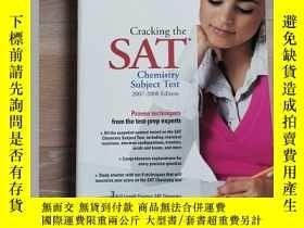 二手書博民逛書店Cracking罕見SAT Chemistry Subject TestY462325 Theodore Si