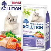 【ZOO寵物樂園】耐吉斯《高齡貓/鮮雞肉+鮭魚》高齡/關節配方飼料3kg