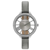 Kenneth Cole 羅馬夜夢時尚晶鑽腕錶-KC50184003