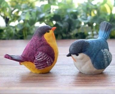 [協貿國際]樹脂小鳥工藝品 (四個一組)價