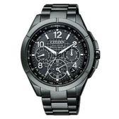 CITIZEN星辰錶 CC9075-52F 吳慷仁廣告款 鈦金屬GPS衛星對時光動能腕錶 公司貨 全球1年保固
