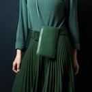 Alto 皮革輕便手機隨身包 – 森林綠 (可加購客製雷雕) 保護套 護照夾 手拿包 手機小包