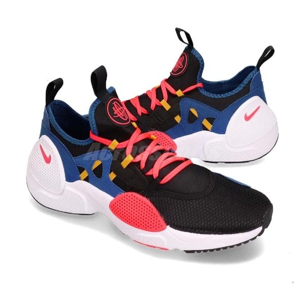Nike 武士鞋 Huarache E.D.G.E. TXT 藍 黑 全新系列 男鞋 運動鞋【ACS】 AO1697-003