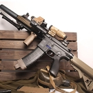 M416電動連發水彈槍絕地吃雞裝備求生m4真人cs水蛋步槍兒童玩具槍 熊熊物語