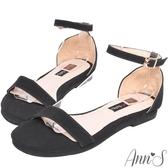Ann'S無極限的重複穿搭-極簡平底涼鞋-黑