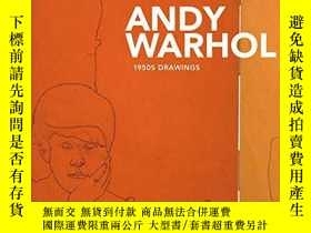 二手書博民逛書店Andy罕見Warhol: From Silverpoint to Silver Screen * 1950s D