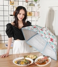 保溫飯菜罩 保溫菜罩冬季熱菜防塵保溫罩蓋菜罩家用飯菜餐桌罩子折疊加熱神器 星期八