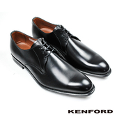 【KENFORD】防水皮革德比紳士鞋 經典黑 (KB46-BL)