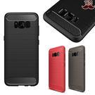 三星 S8 Plus S8 碳纖紋拉絲 手機軟殼 防滑 矽膠 磨砂 手機殼 TPU 防摔 防指紋 全包邊 FY