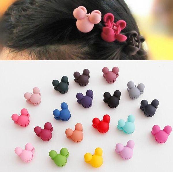 【TT】韓國兒童頭飾品寶寶小抓夾公主劉海夾髪飾塑膠髮夾邊夾髮卡