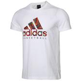Adidas ST GFX TEE [DN8360] 男 圓領 短袖 運動 休閒 舒適 棉T 愛迪達 白