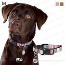 狗日子法國《BOBBY》音樂項圈 M號 俏皮躍動新設計 方便扣環 中型犬項圈