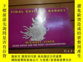 二手書博民逛書店FINAL罕見EXIT FOR BARNEY, A PARODY