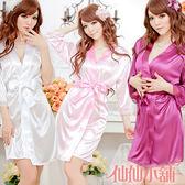 仙仙小舖 GS1149白/粉/深紫/黑/豆沙 擋不住的慾望 冰絲連身睡衣 日系情趣內衣