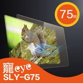 【寵eye】 75吋 抗藍光 螢幕 護目鏡 (SLY-G75)
