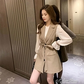 氣質女2021春秋新款收腰顯瘦馬甲