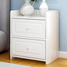 簡易床頭櫃簡約現代收納櫃子臥室床邊儲物櫃多功能小型鬥櫃 萬寶屋