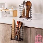 鐵藝筷子籠廚房瀝水架家用筷子收納盒筷子筒筷子桶【匯美優品】