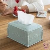 面紙盒 。創意收納塑料紙巾抽紙盒 餐巾面巾紙盒衛生間廁所卷紙手抽筒時