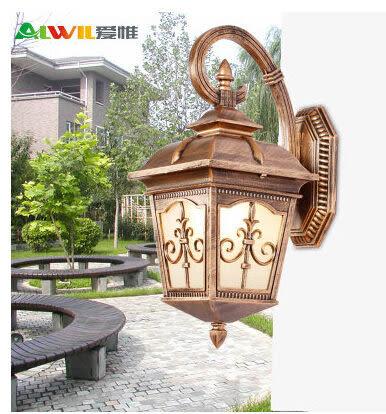 設計師美術精品館愛惟歐式現代戶外壁燈庭院燈飾花園燈具簡約創意景觀燈室外燈B216