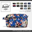 《熊熊先生》Herschel潮流品牌萬用包 7折 反車拉鏈小包 10347 旅行手拿包 防潑水 黑/藍/綠/迷彩/灰