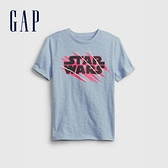 Gap男童 Gap x Star Wars星際大戰系列紮染短袖T恤 689817-灰藍色