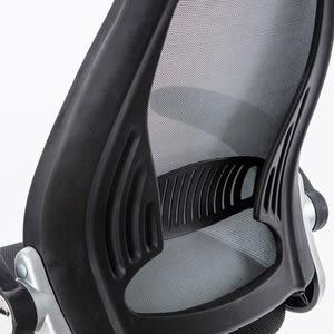 特力屋 聖彼得高背扶手網布椅