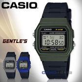 CASIO手錶專賣店   F-91WM-3A 復古方形電子男錶 樹脂錶帶 黑色錶面 防水 碼錶功能 F-91WM