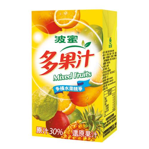 波蜜多果汁250ml*24【愛買】