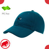 【MAMMUT 長毛象 Baseball Cap 棒球帽《禪意藍》】1191-00050/運動帽/鴨舌帽/戶外健行