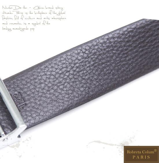 Roberta Colum - 流線品味小牛皮釘扣式皮帶