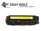 【 速買通】HP CC532A 黃色 相容彩雷環保碳粉匣 適用CP2020/CP2025/CM2320(304A)