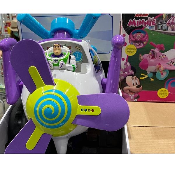 [COSCO代購] C2059808 DISNEY  PLANE RIDE MINNIE&BUZZ LIGHTYEAR 飛機造型嚕嚕車
