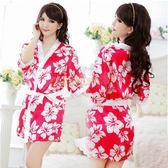 角色扮演 日系 情趣睡衣 情趣用品 大阪香姬 浪漫櫻花和服-全家取送立頓茶