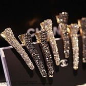 彼兔 betwo.髮夾 QOB*多款多色韓版水鑽珍珠造型合金髮夾【013-AM57】06060185現貨