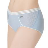 思薇爾-K.K Fit i動洞系列M-XL素面低腰平口內褲(採石灰)