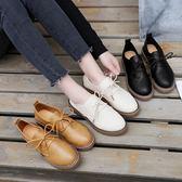 英倫鞋 復古小皮鞋女英倫原宿軟妹單鞋百搭學生休閒女鞋 蒂小屋服飾  來襲
