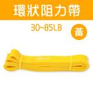 〔30~85LB〕寬2.4cm阻力帶/乳膠阻力繩/彼拉提斯帶/手足運動拉力