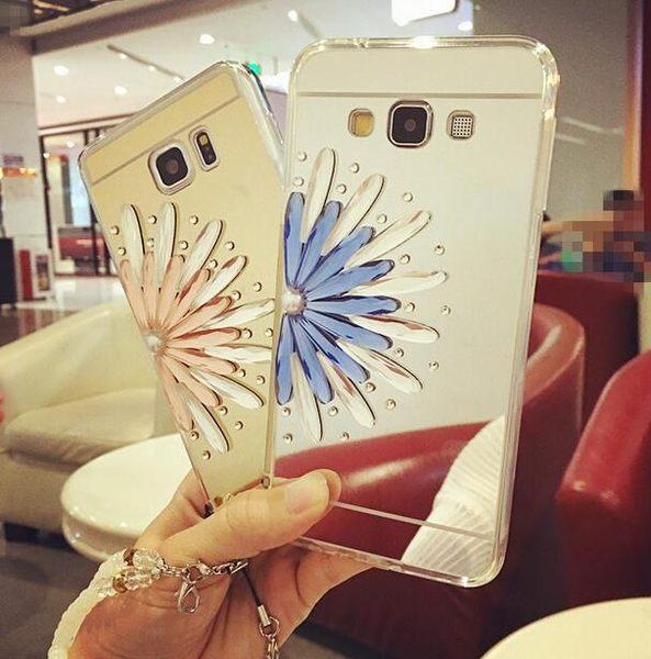 【SZ64】PP LG G3手機殼 電鍍鏡面TPU+奢華半花鑲鑽 G4手機殼 G5手機殼 V10手機殼 LG V20軟殼