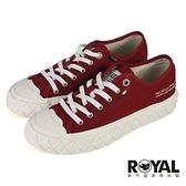 Palladium PALLA ACE 紅色 黃膠底 餅乾鞋 女款 NO.B1979【新竹皇家 77014-614】