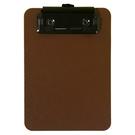 《享亮商城》66233 咖啡色 輕量防水簽帳板夾 ABEL