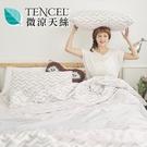 [小日常寢居]#HT013#絲柔親膚奧地利TENCEL天絲4.5x6.5尺單人薄被套(台灣製)萊賽爾Lyocell