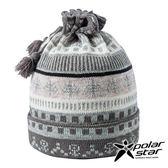 【PolarStar】兩用造型保暖帽/圍脖『灰』P17618 羊毛帽 針織帽 毛帽 毛線帽 帽子 圍脖 圍巾