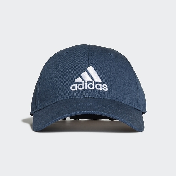 Adidas Bball Cap Cot [GM6273] 男女 老帽 鴨舌帽 棒球帽 六分割 經典 潮流 防曬 藍