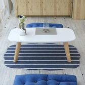 創意北歐日式茶几榻榻米小矮桌飄窗桌現代簡約烤漆小茶几