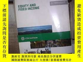 二手書博民逛書店CFA罕見INSTITUTE LEVEL 1 VOLUME 5 EQUITY AND FIXED INCOME 2