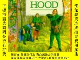 二手書博民逛書店The罕見Story of Robin Hood: From t