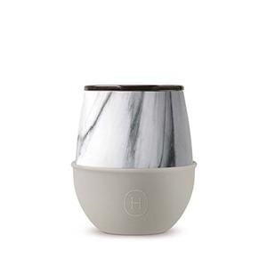 美國HYDY優雅蛋型杯 大理石紋x尤加利-240ml
